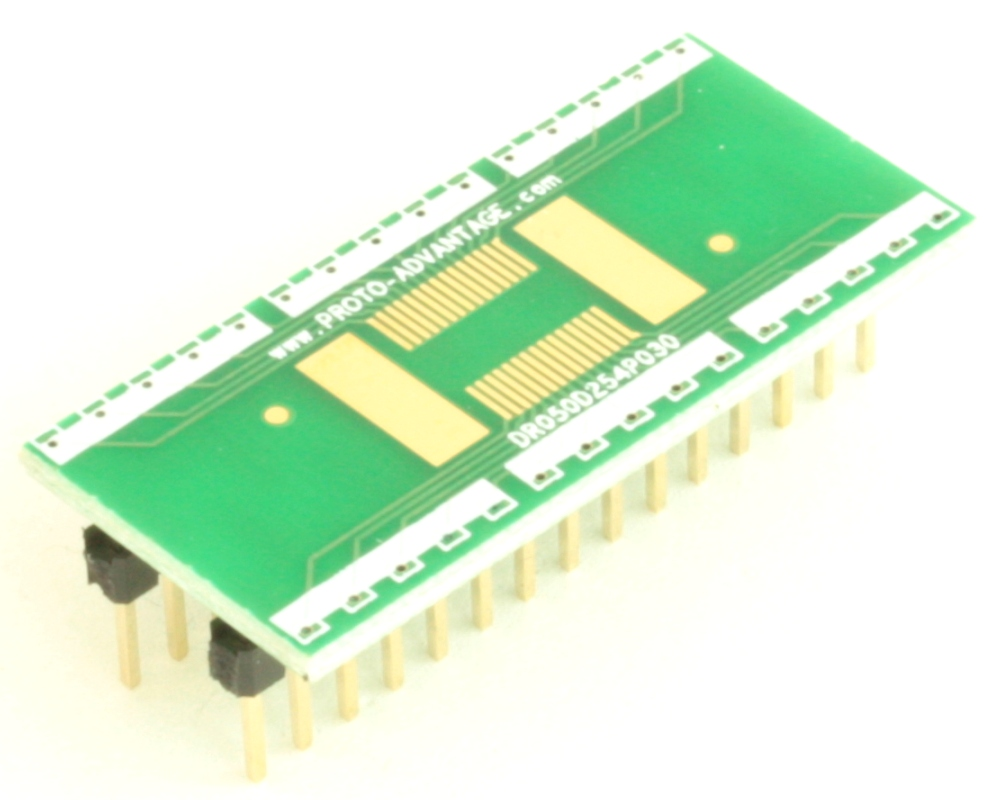 Dual Row 0.5mm Pitch  30-Pin Connector to DIP-30 Adapter 0