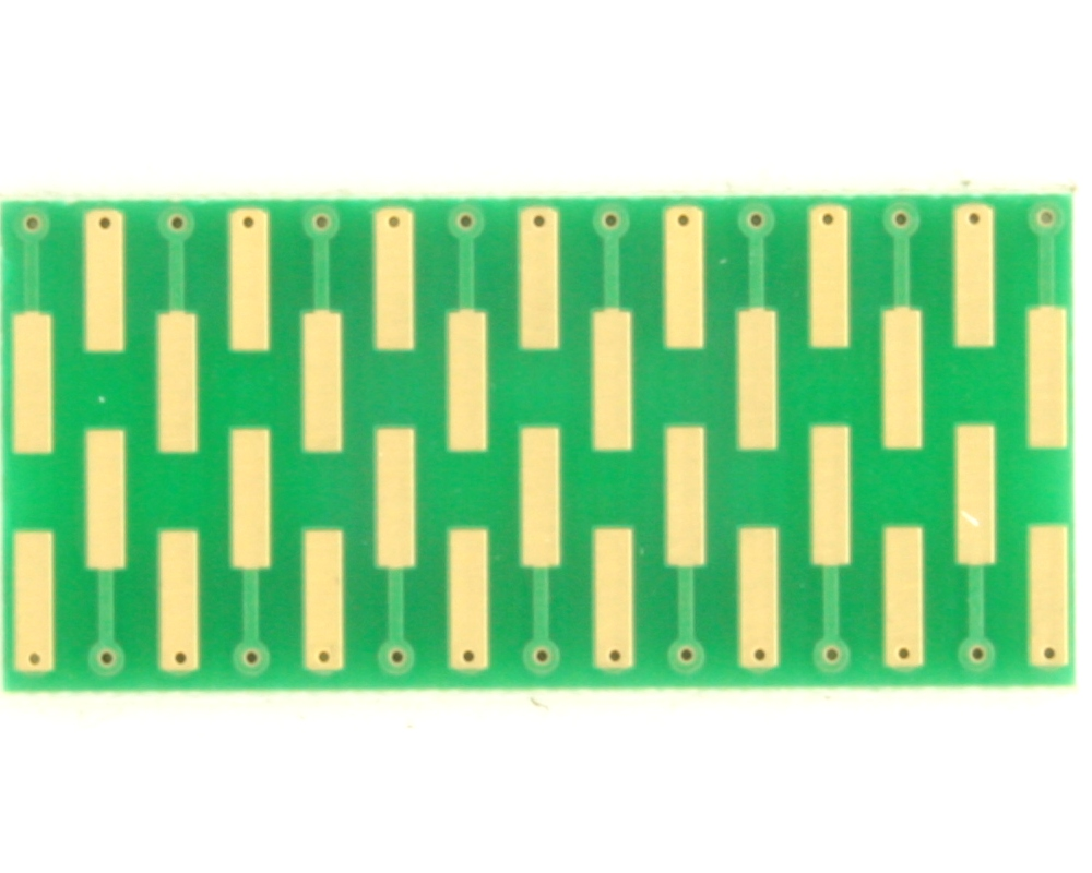 Dual Row 0.5mm Pitch  30-Pin Connector to DIP-30 Adapter 1
