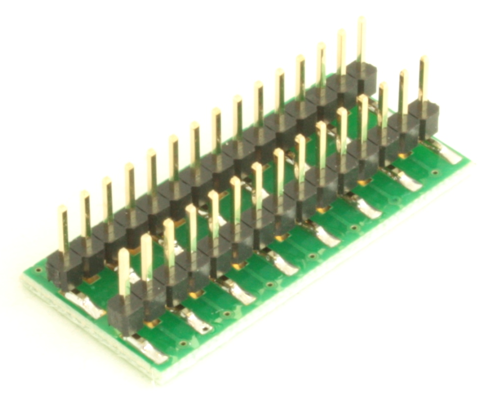 Dual Row 0.5mm Pitch  30-Pin Connector to DIP-30 Adapter 3