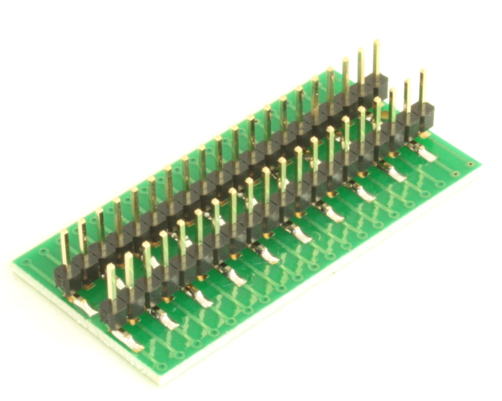 Dual Row 0.5mm Pitch  40-Pin Connector to DIP-40 Adapter 3