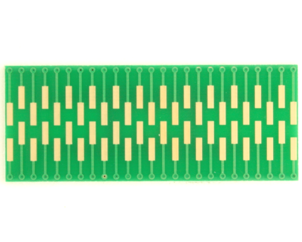 Dual Row 0.5mm Pitch  50-Pin Connector to DIP-50 Adapter 1