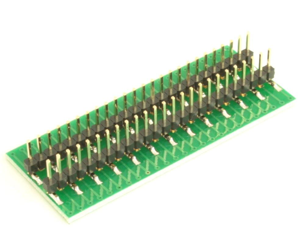 Dual Row 0.5mm Pitch  50-Pin Connector to DIP-50 Adapter 3