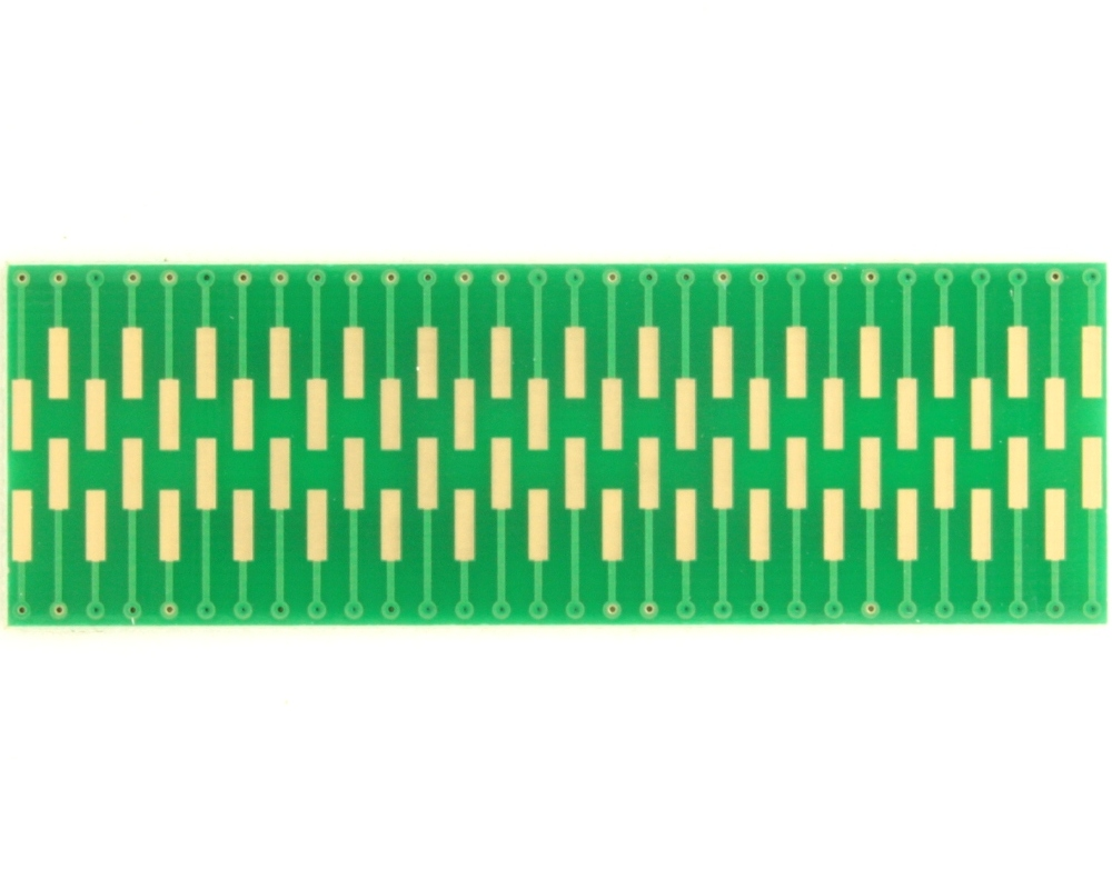 Dual Row 0.5mm Pitch  60-Pin Connector to DIP-60 Adapter 1