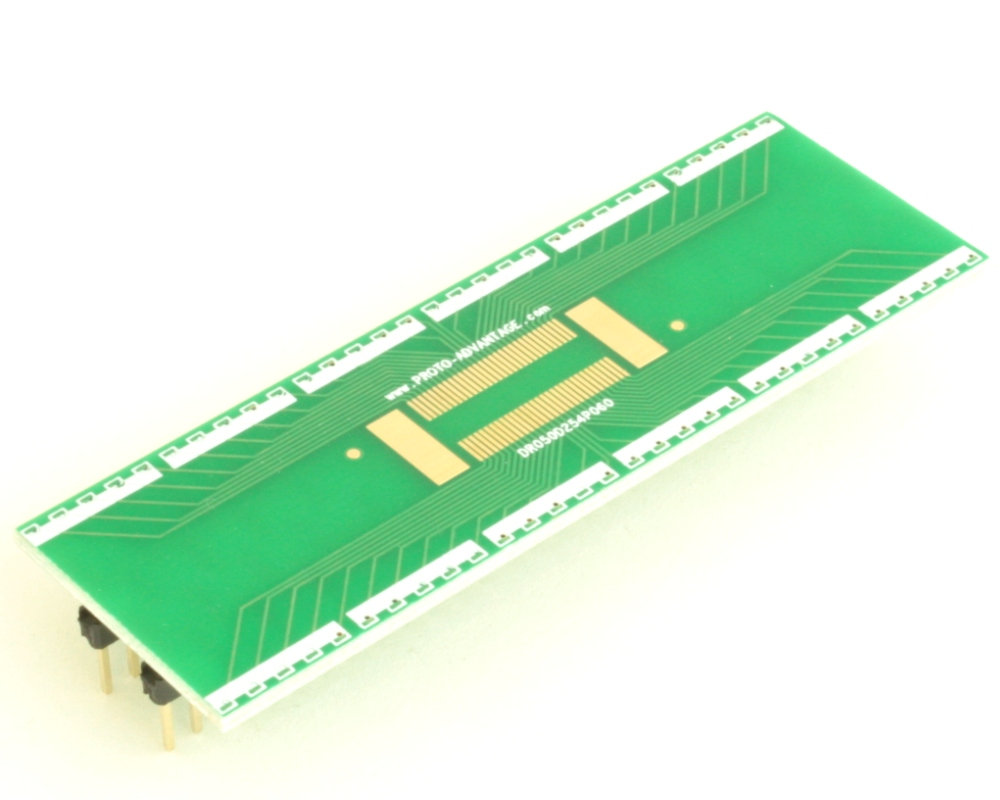 Dual Row 0.5mm Pitch  60-Pin Connector to DIP-60 Adapter 2