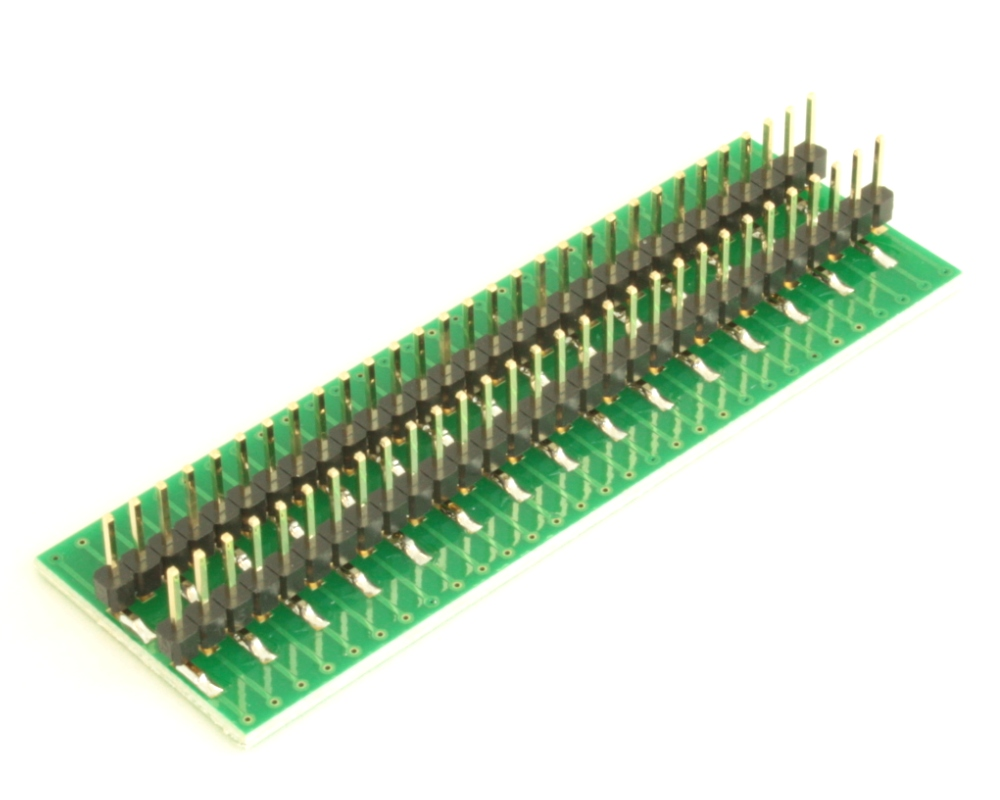 Dual Row 0.5mm Pitch  60-Pin Connector to DIP-60 Adapter 3