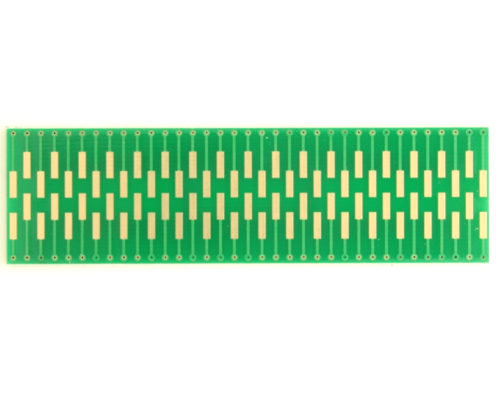 Dual Row 0.5mm Pitch  70-Pin Connector to DIP-70 Adapter 1