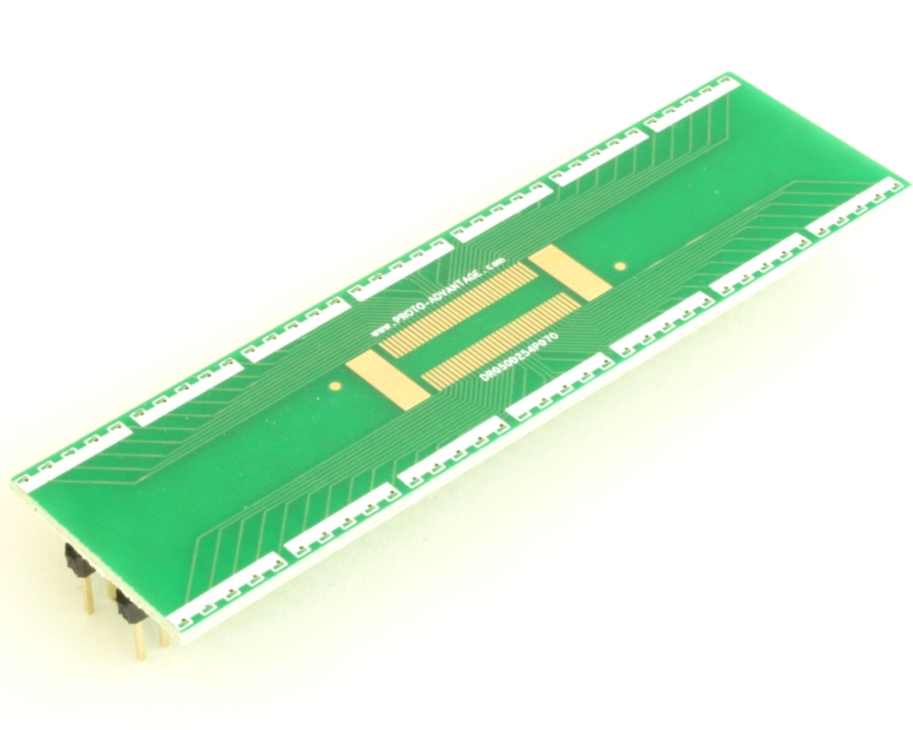 Dual Row 0.5mm Pitch  70-Pin Connector to DIP-70 Adapter 2