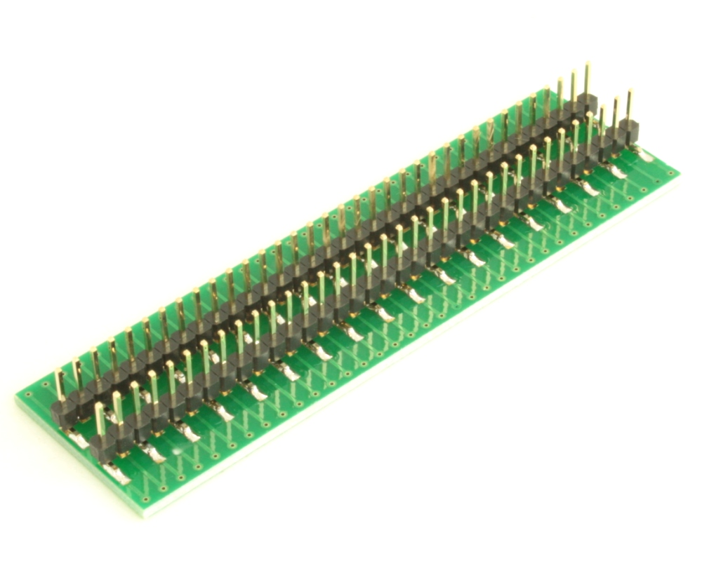Dual Row 0.5mm Pitch  70-Pin Connector to DIP-70 Adapter 3