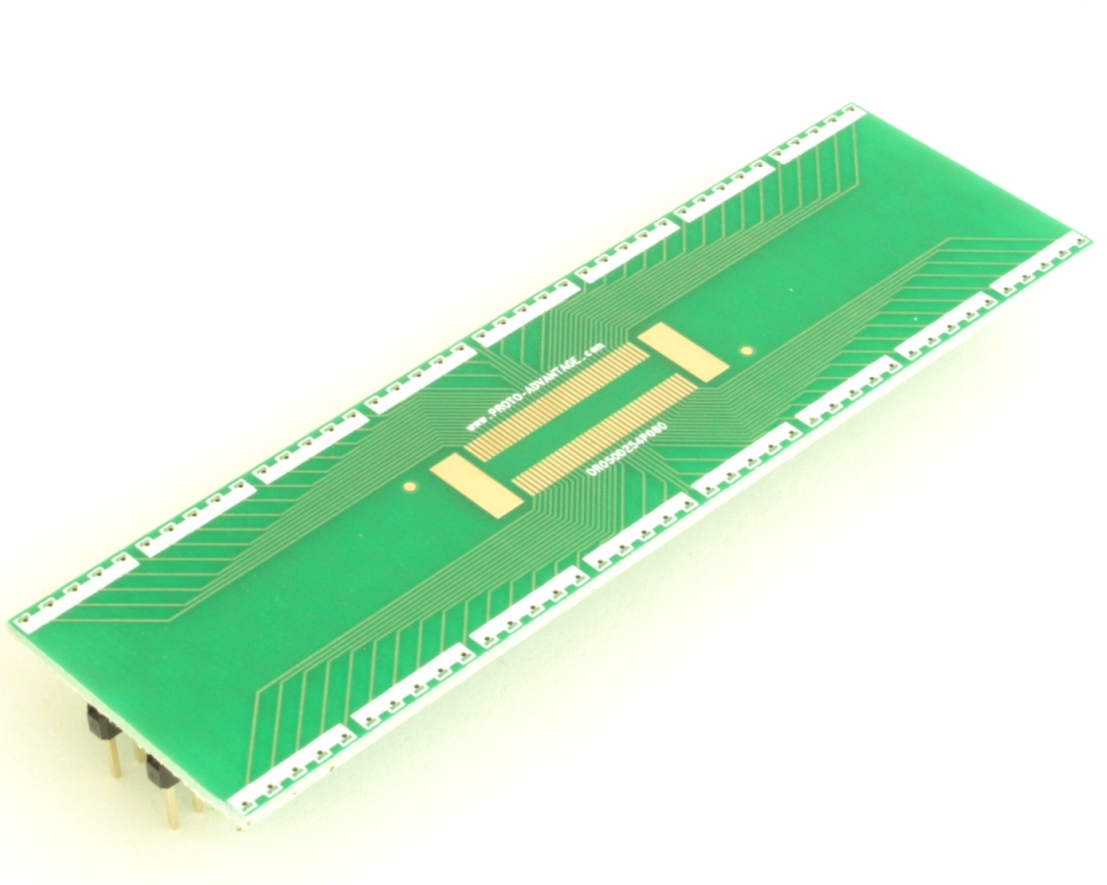 Dual Row 0.5mm Pitch  80-Pin Connector to DIP-80 Adapter 0