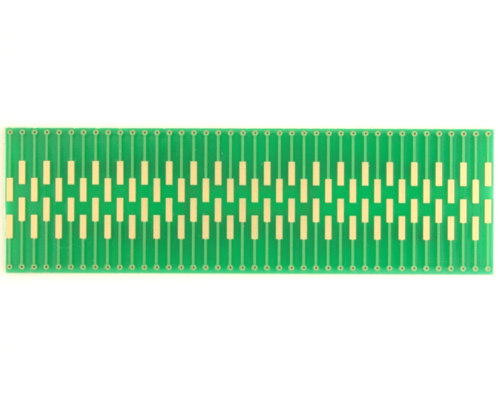 Dual Row 0.5mm Pitch  80-Pin Connector to DIP-80 Adapter 1