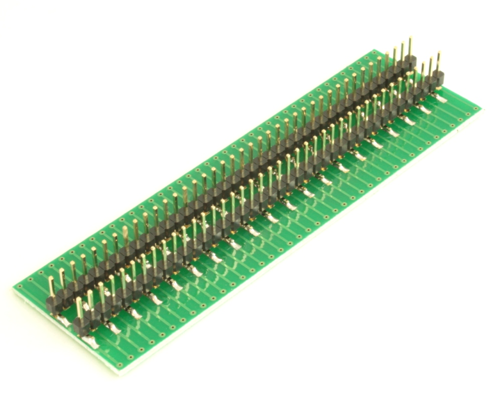 Dual Row 0.5mm Pitch  80-Pin Connector to DIP-80 Adapter 3