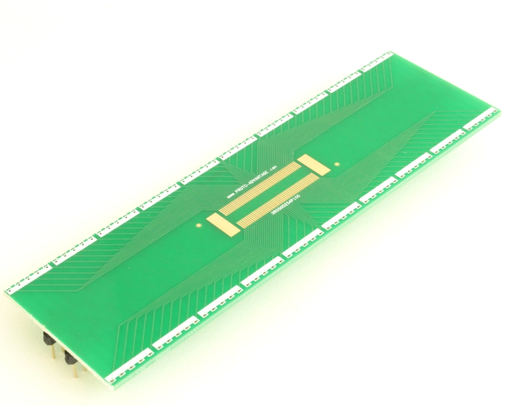 Dual Row 0.5mm Pitch 100-Pin Connector to DIP-100 Adapter 0