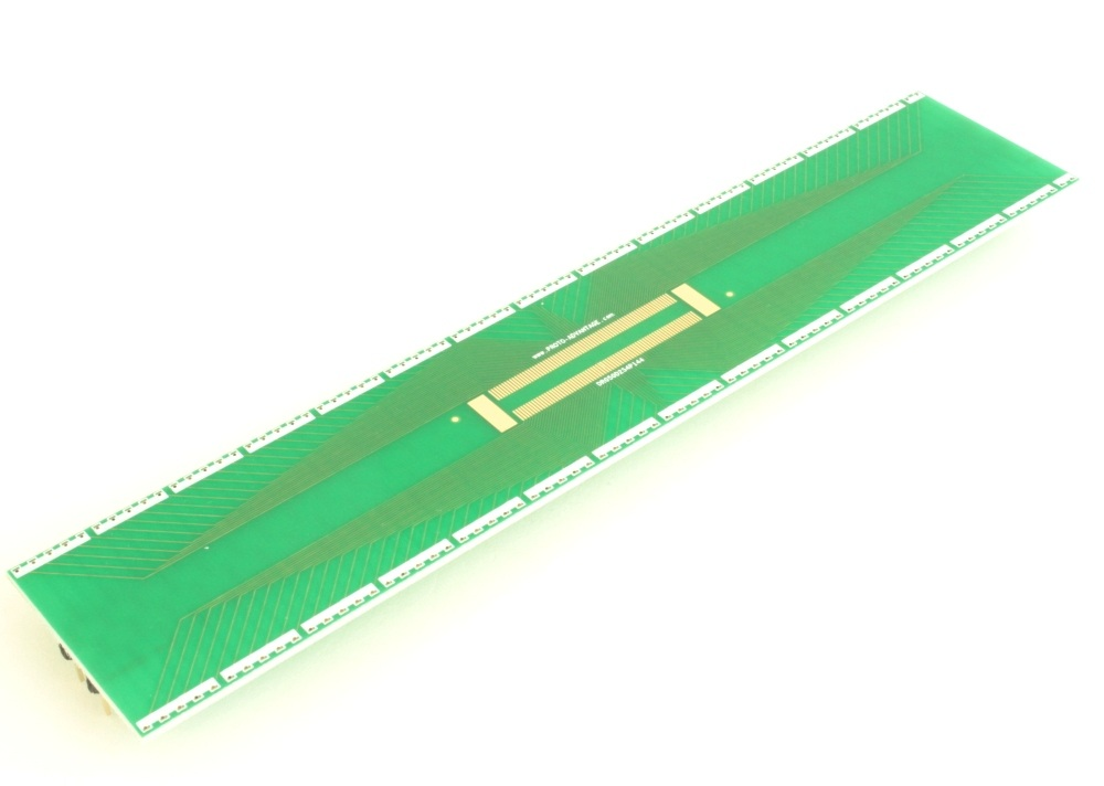 Dual Row 0.5mm Pitch 144-Pin Connector to DIP-144 Adapter 0