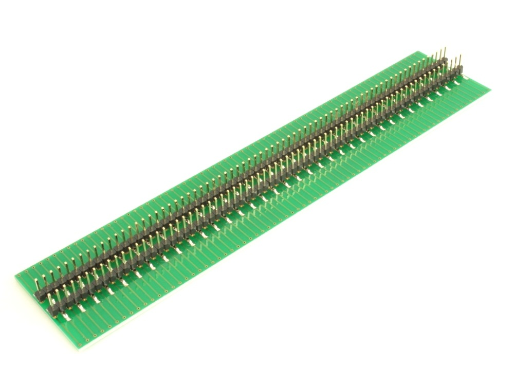 Dual Row 0.5mm Pitch 144-Pin Connector to DIP-144 Adapter 3
