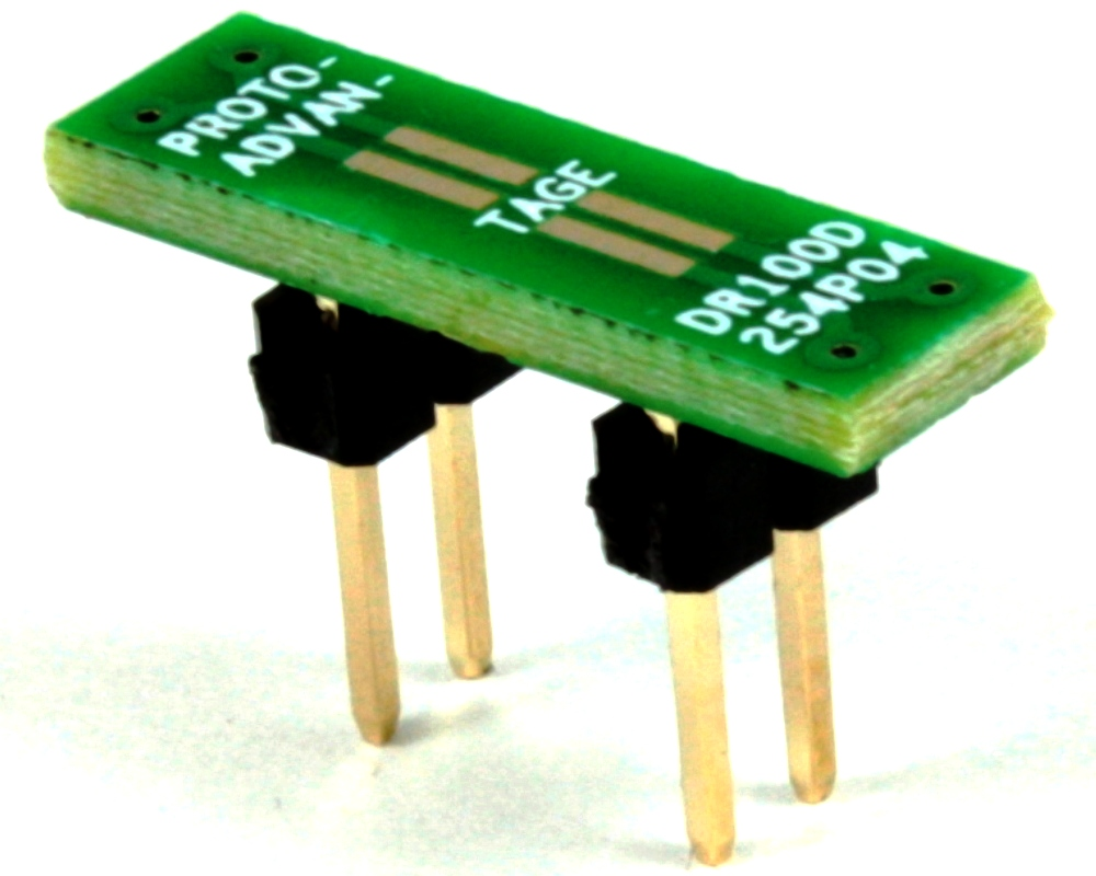 Dual Row 1.00mm Pitch  4-Pin to DIP-4 Adapter 0