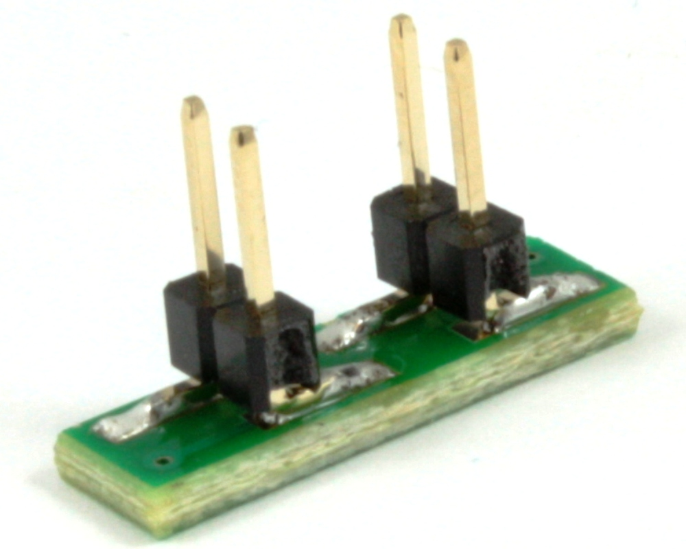 Dual Row 1.00mm Pitch  4-Pin to DIP-4 Adapter 1