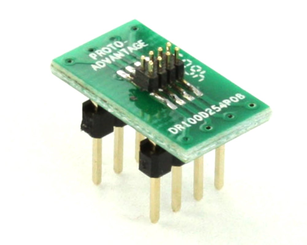 Dual Row 1.00mm Pitch  8-Pin Male Header to DIP-8 Adapter 0