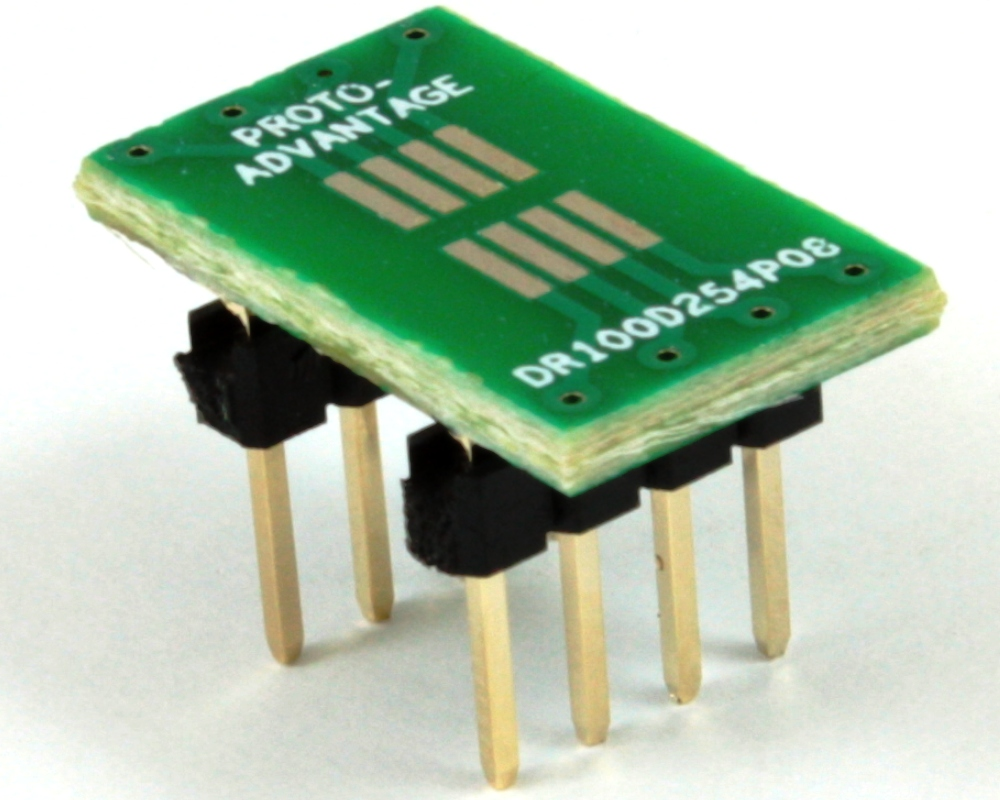 Dual Row 1.00mm Pitch  8-Pin to DIP-8 Adapter 0