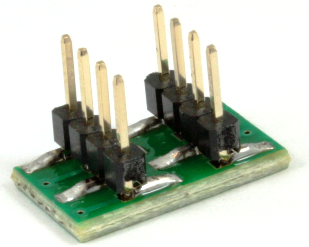 Dual Row 1.00mm Pitch  8-Pin to DIP-8 Adapter 1