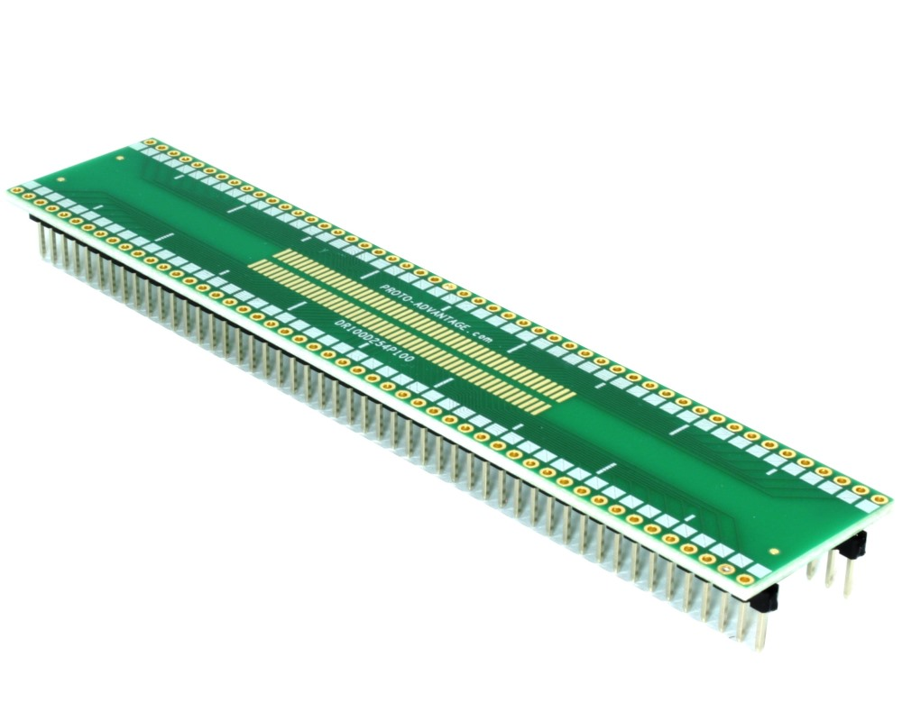 Dual Row 1.00mm Pitch 100-Pin to DIP-100 Adapter 0