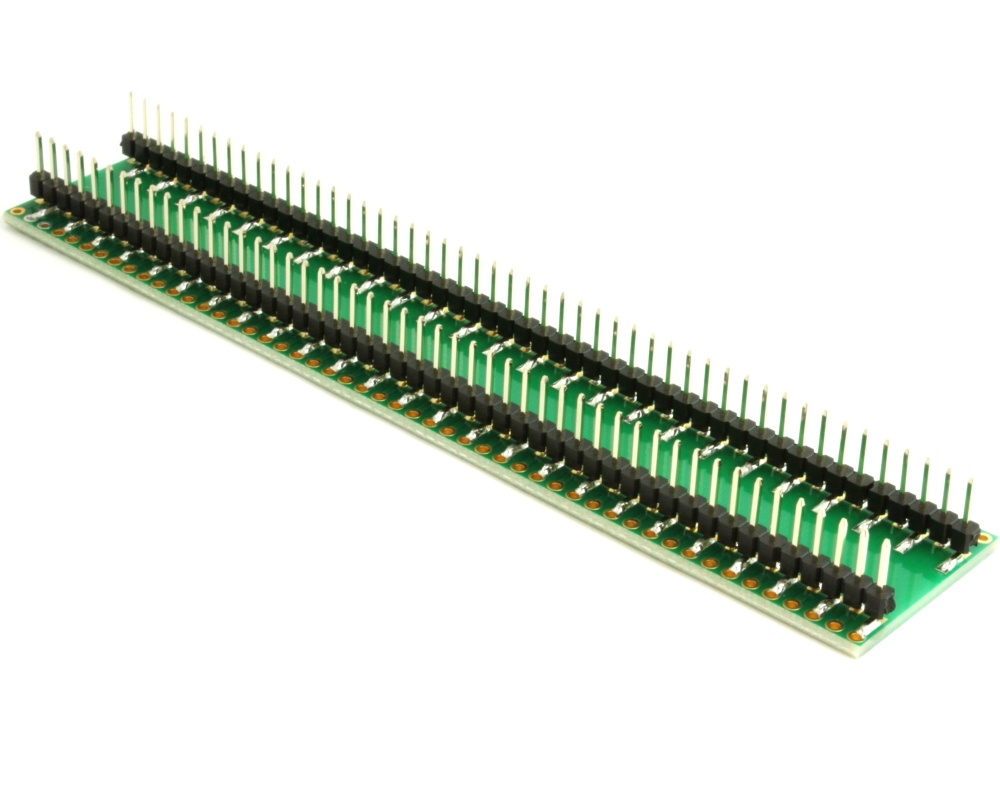 Dual Row 1.00mm Pitch 100-Pin to DIP-100 Adapter 1