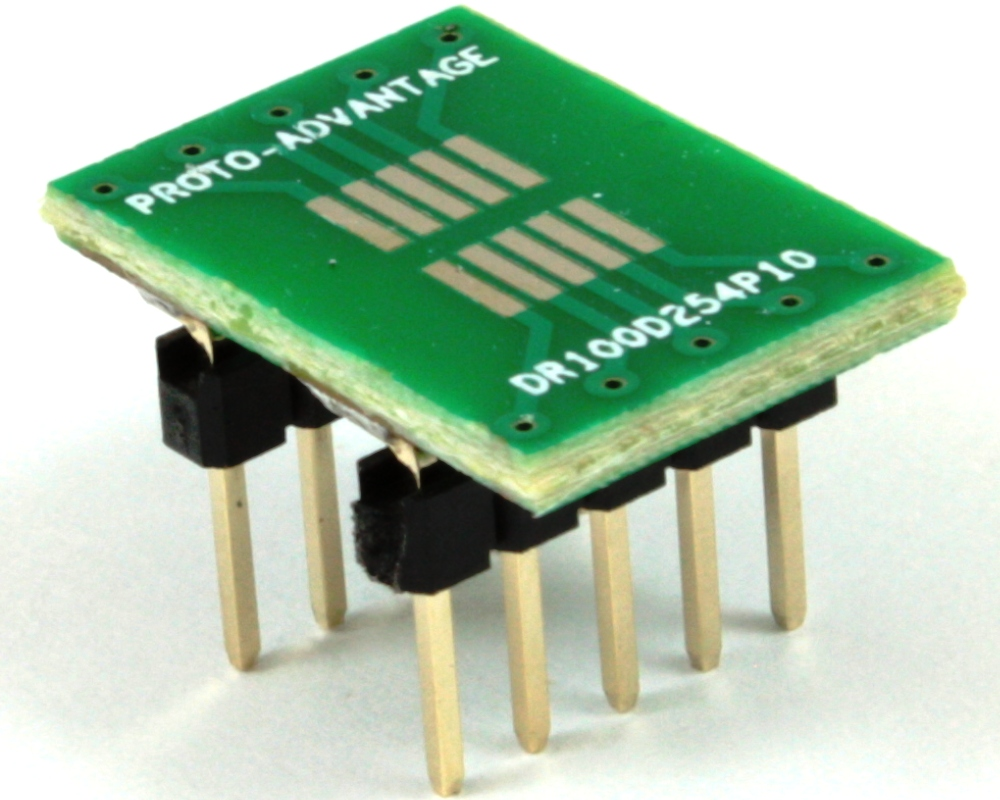 Dual Row 1.00mm Pitch 10-Pin to DIP-10 Adapter 0