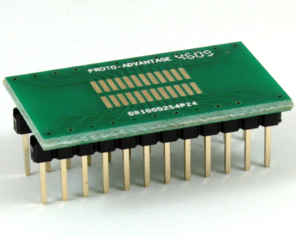 Dual Row 1.00mm Pitch 24-Pin to DIP-24 Adapter 0