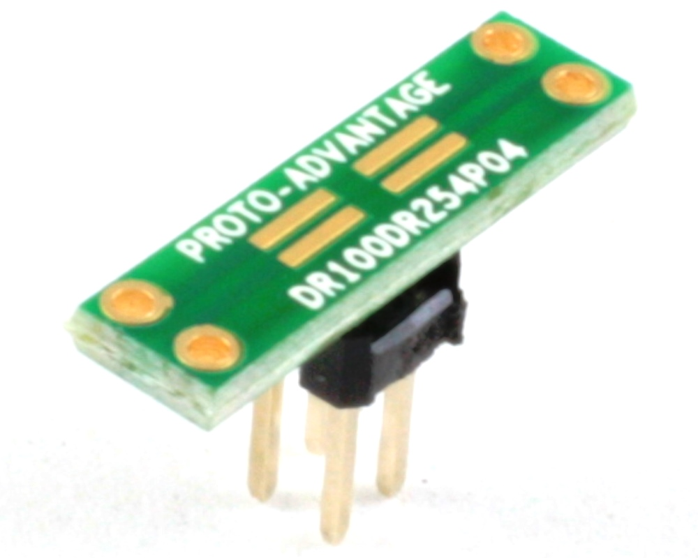 Dual Row 1.00mm Pitch  4-Pin to Dual Row 2.54mm Pitch Adapter 0