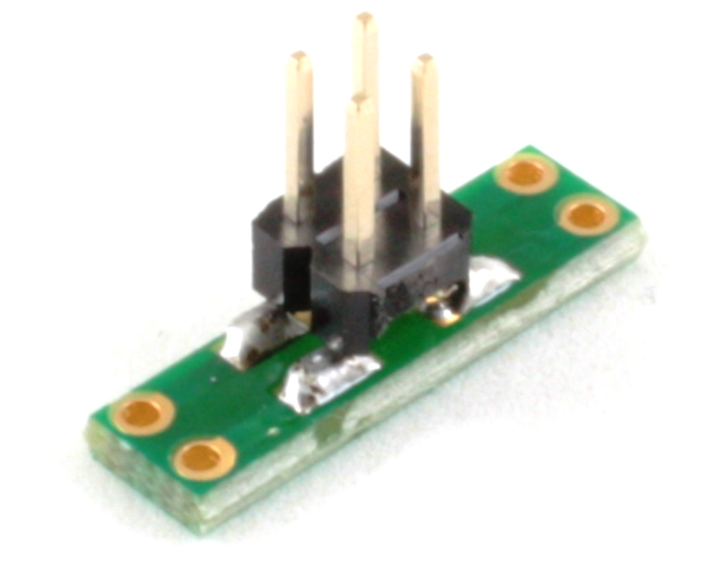 Dual Row 1.00mm Pitch  4-Pin to Dual Row 2.54mm Pitch Adapter 1