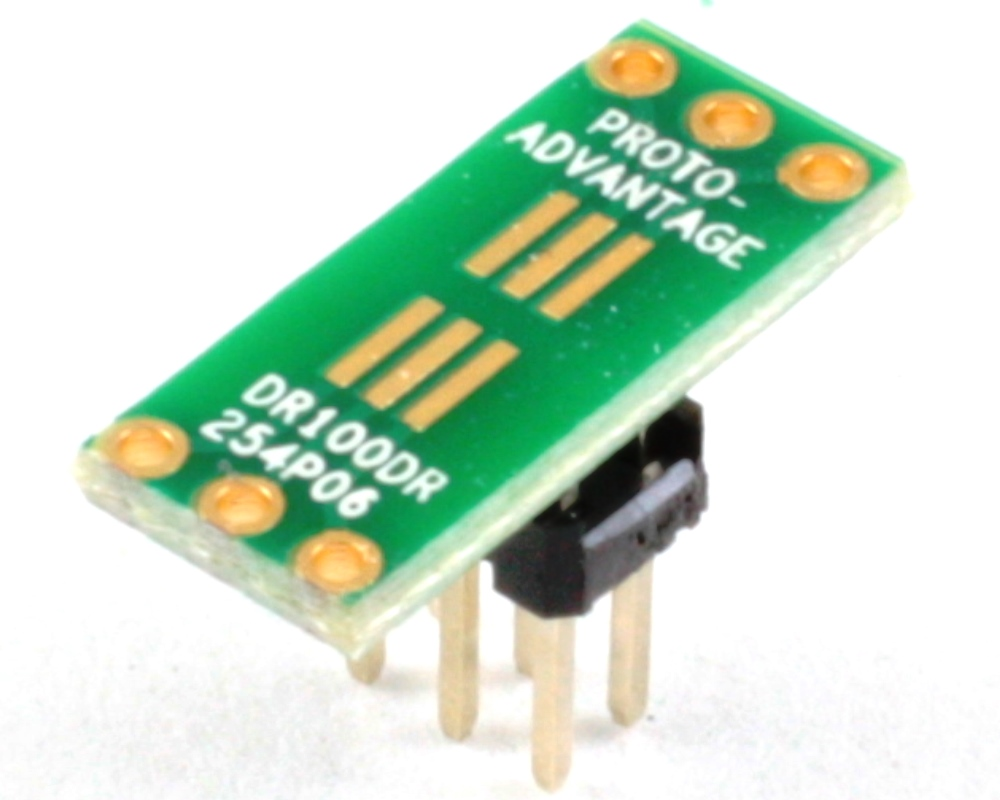 Dual Row 1.00mm Pitch  6-Pin to Dual Row 2.54mm Pitch Adapter 0