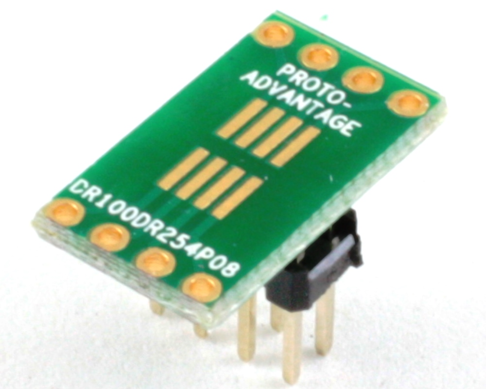Dual Row 1.00mm Pitch  8-Pin to Dual Row 2.54mm Pitch Adapter 0