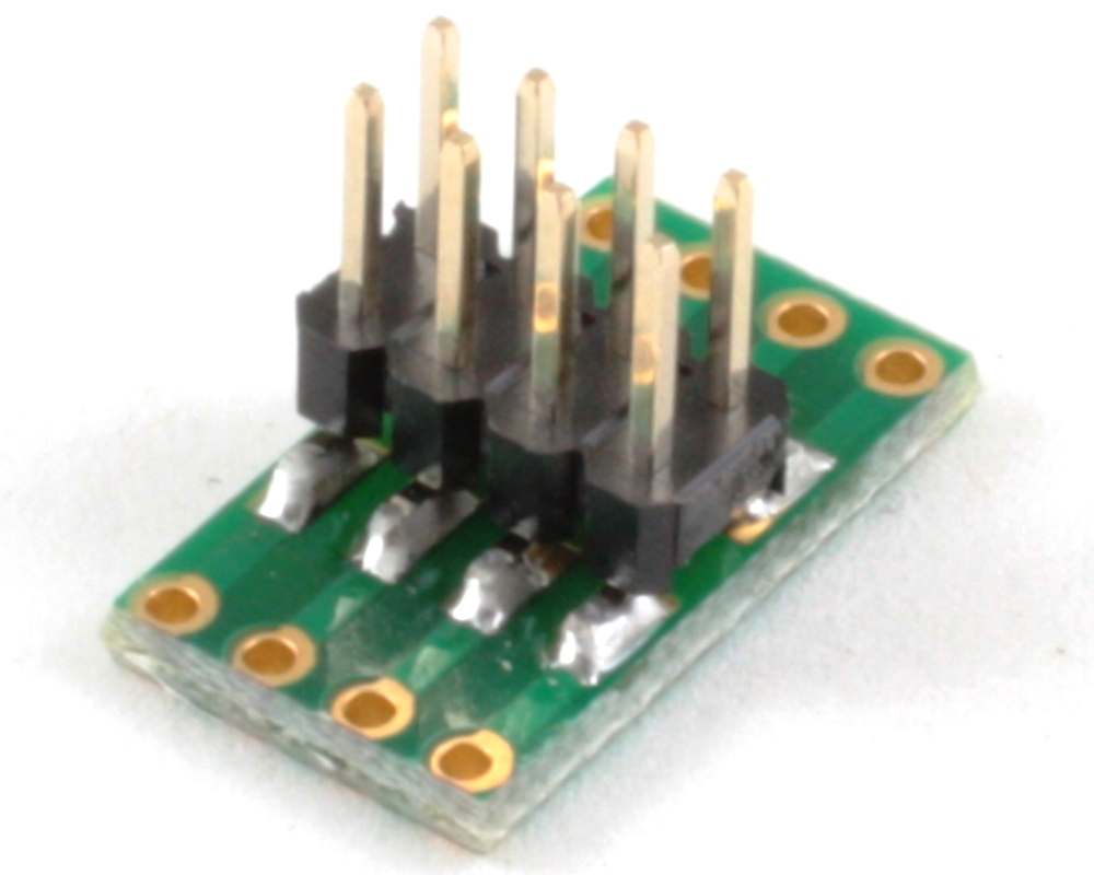 Dual Row 1.00mm Pitch  8-Pin to Dual Row 2.54mm Pitch Adapter 1