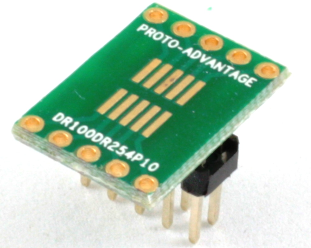 Dual Row 1.00mm Pitch 10-Pin to Dual Row 2.54mm Pitch Adapter 0