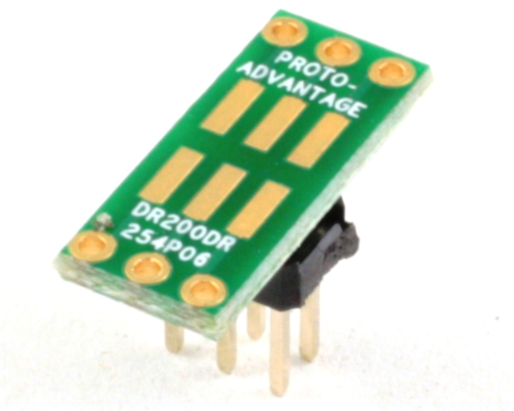 Dual Row 2.00mm Pitch  6-Pin to Dual Row 2.54mm Pitch Adapter 0