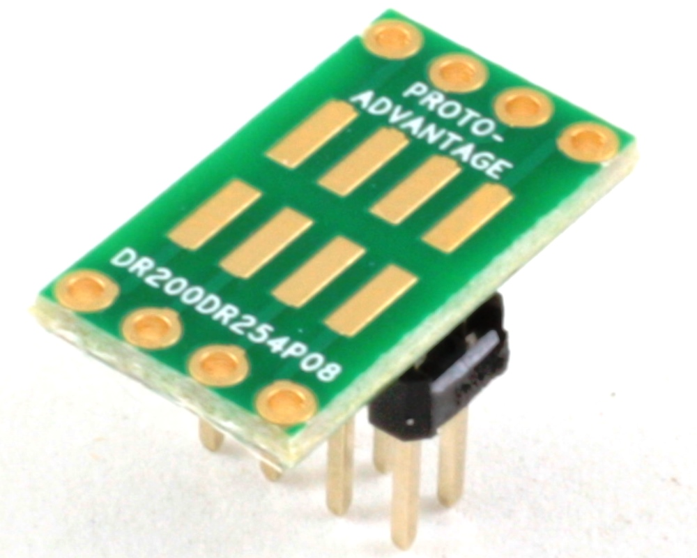 Dual Row 2.00mm Pitch  8-Pin to Dual Row 2.54mm Pitch Adapter 0