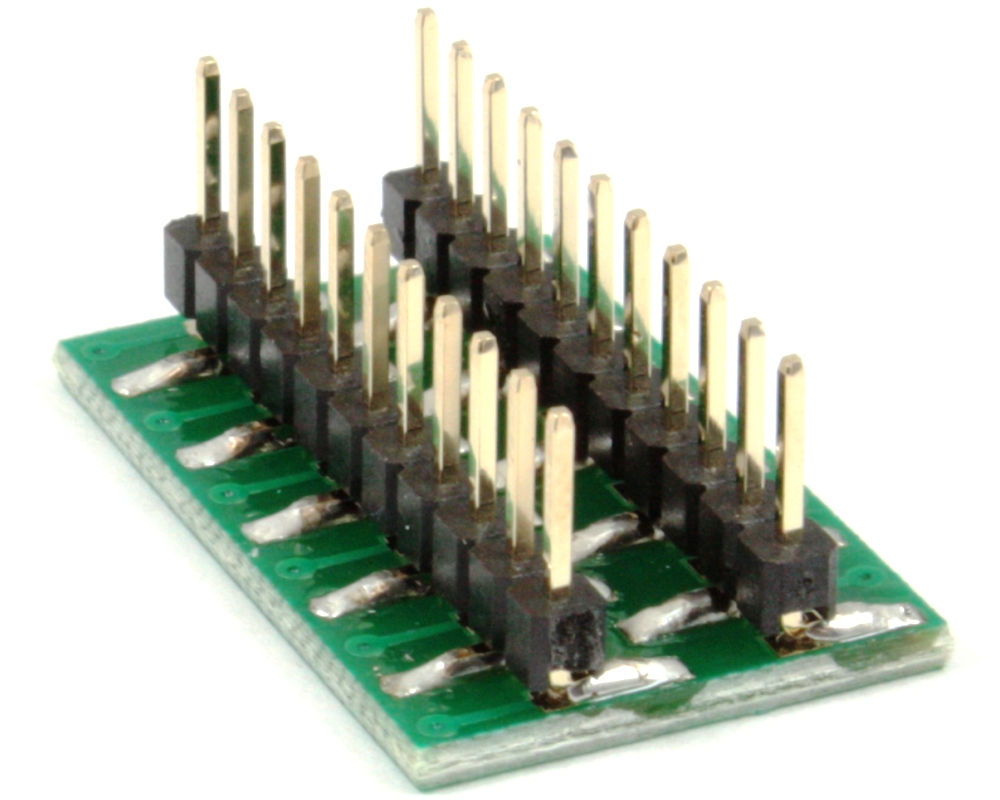 Dual Row 2.54mm Pitch 22-Pin to DIP-22 Adapter 1