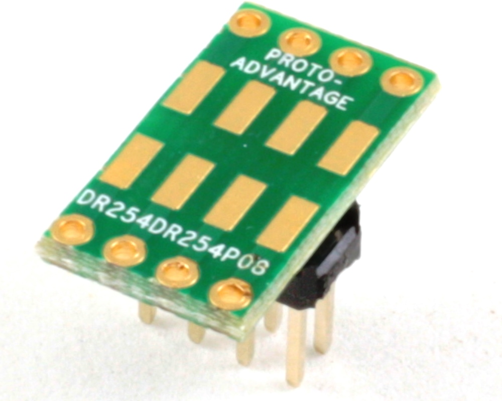 Dual Row 2.54mm Pitch  8-Pin to Dual Row 2.54mm Pitch Adapter 0