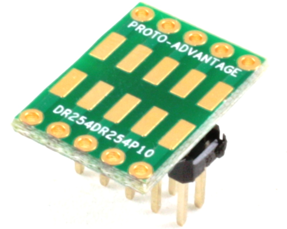 Dual Row 2.54mm Pitch 10-Pin to Dual Row 2.54mm Pitch Adapter 0