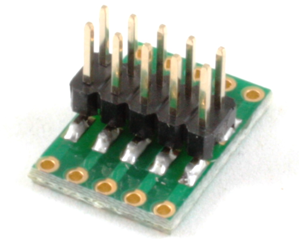 Dual Row 2.54mm Pitch 10-Pin to Dual Row 2.54mm Pitch Adapter 1