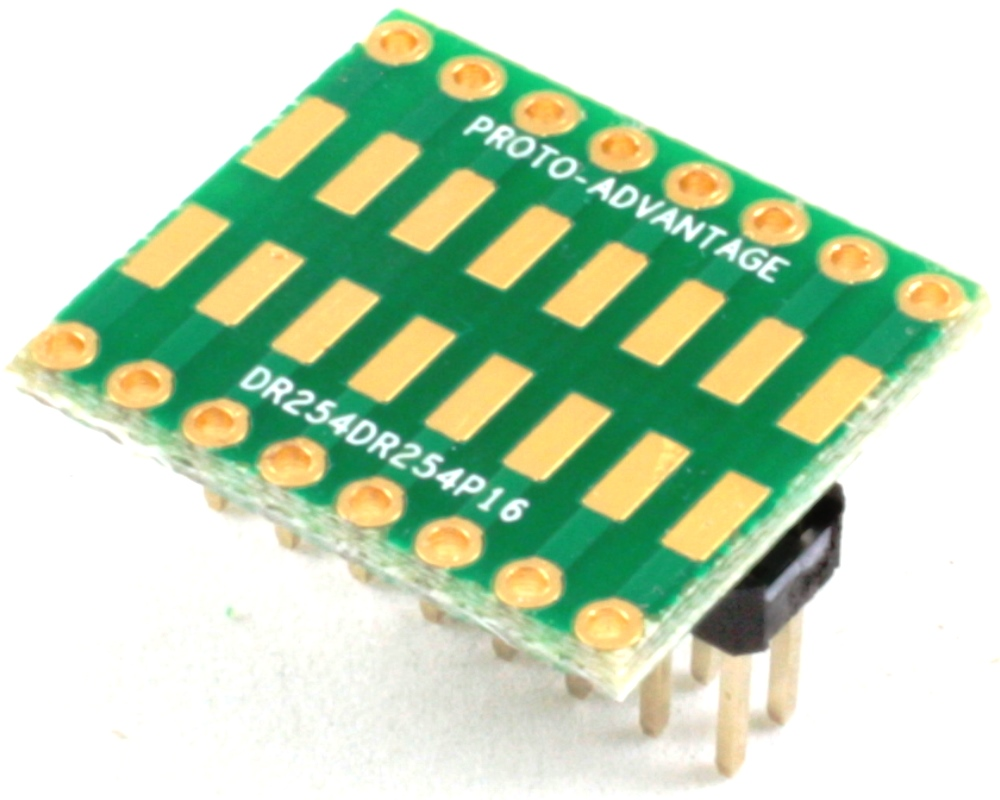 Dual Row 2.54mm Pitch 16-Pin to Dual Row 2.54mm Pitch Adapter 0