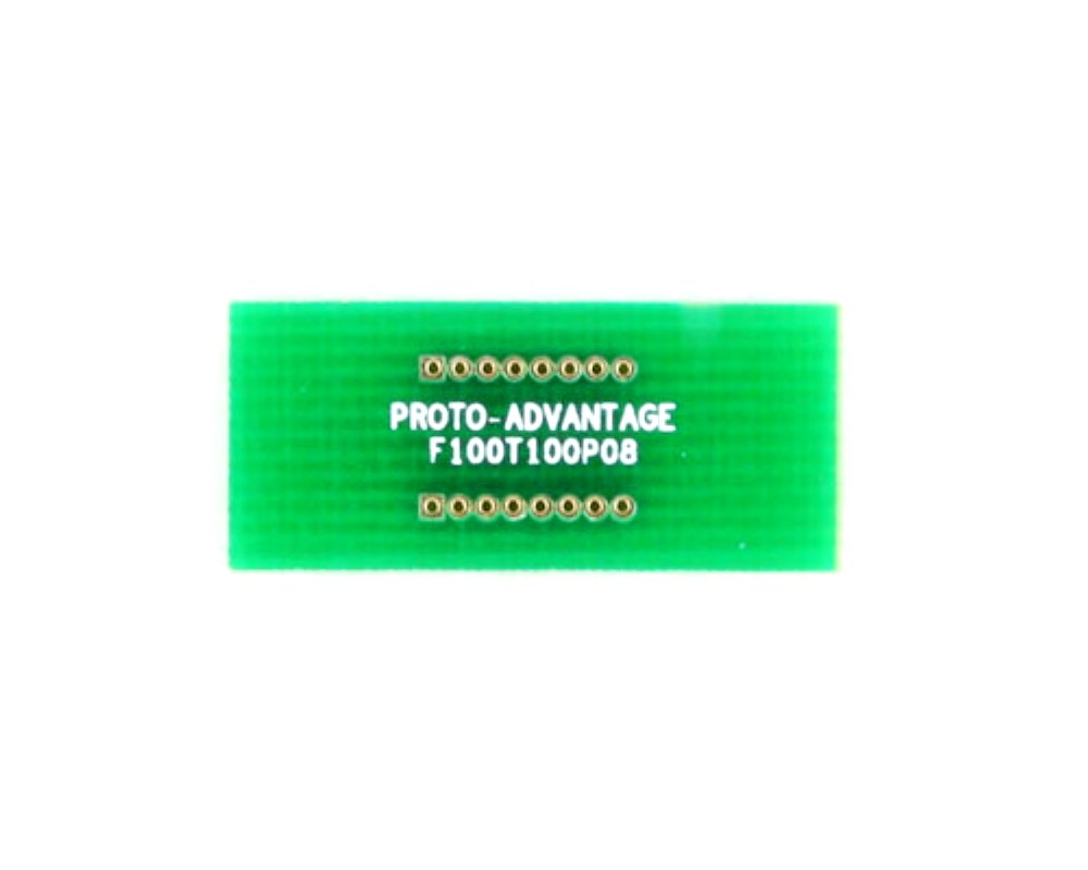 Pitch Changer 1.00 mm to 1.00 mm conversion -  8 pin 0