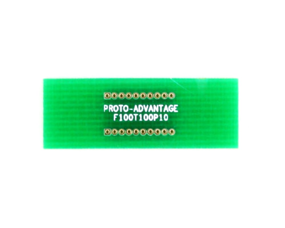 Pitch Changer 1.00 mm to 1.00 mm conversion - 10 pin 0
