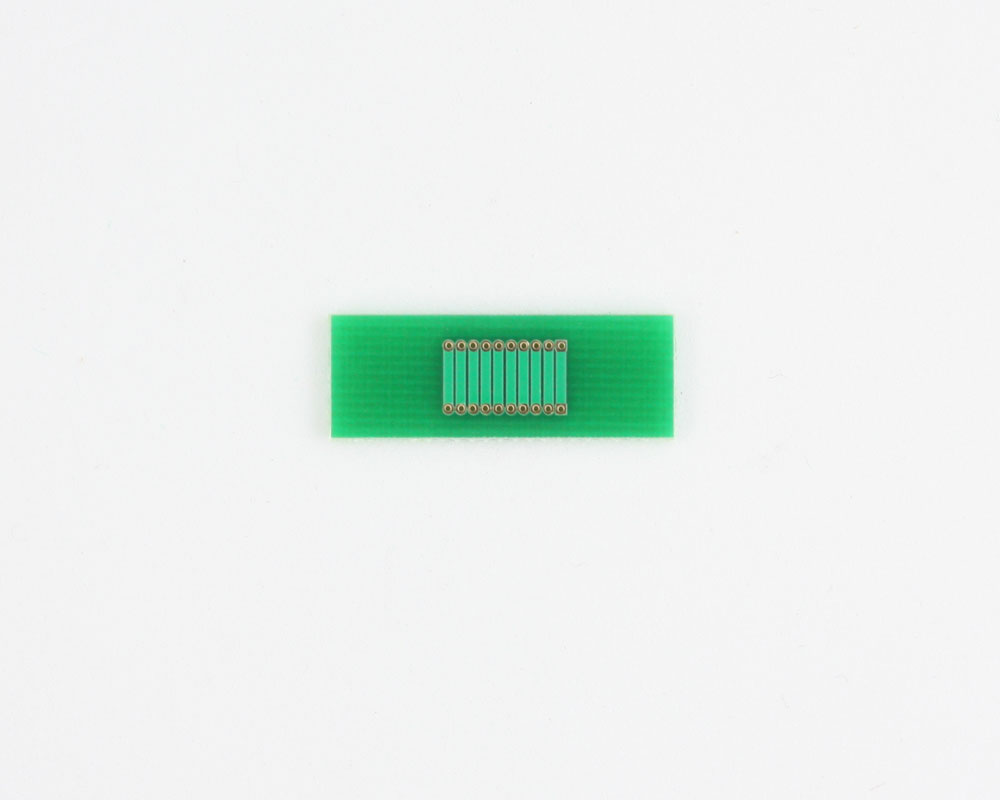Pitch Changer 1.00 mm to 1.00 mm conversion - 10 pin 1