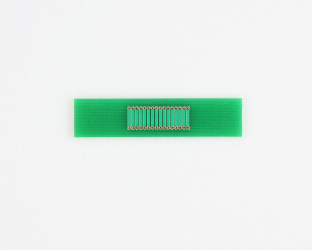 Pitch Changer 1.00 mm to 1.00 mm conversion - 16 pin 1