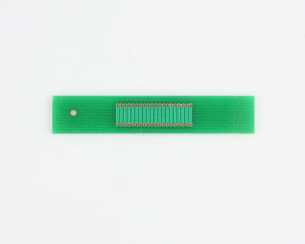 Pitch Changer 1.00 mm to 1.00 mm conversion - 20 pin 1