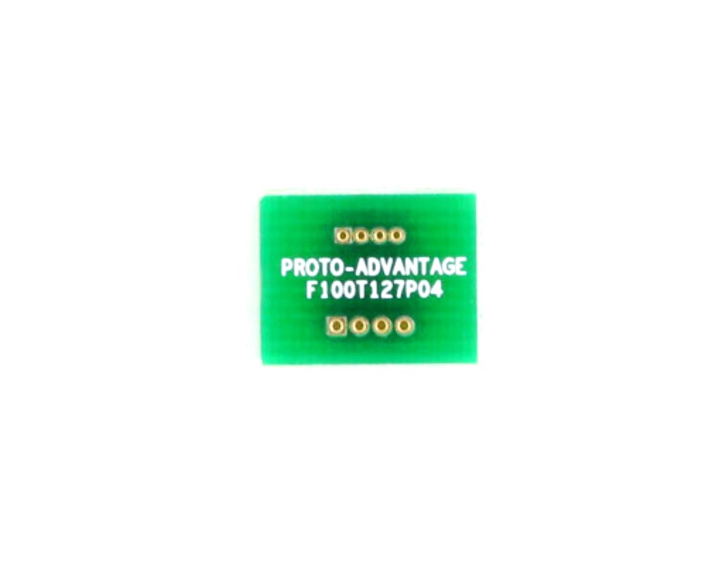 Pitch Changer 1.00 mm to 1.27 mm conversion -  4 pin 0