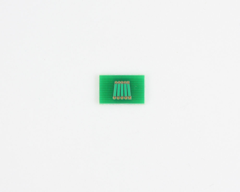Pitch Changer 1.00 mm to 1.27 mm conversion -  5 pin 1