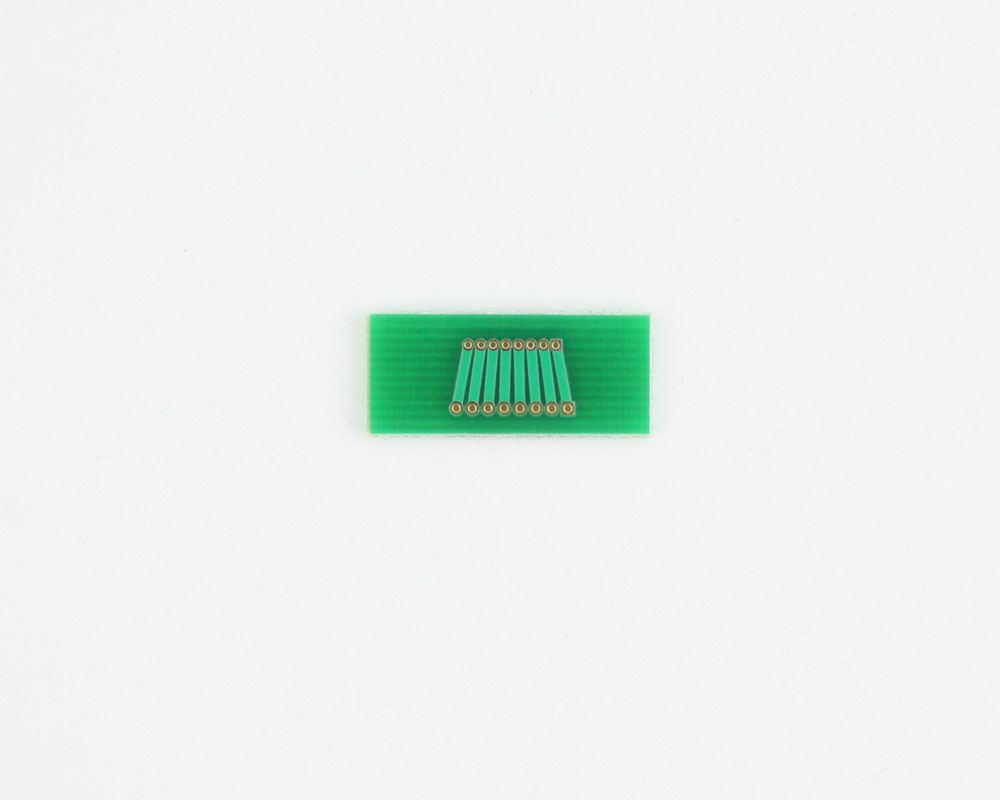 Pitch Changer 1.00 mm to 1.27 mm conversion -  8 pin 1