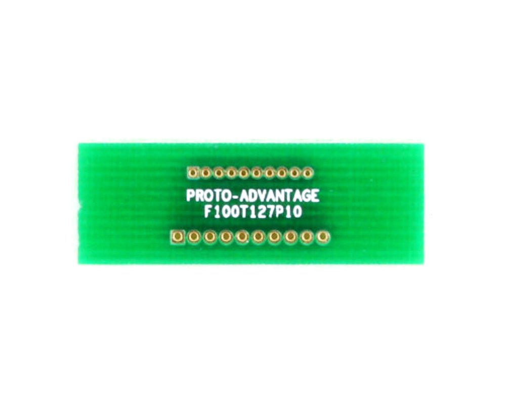 Pitch Changer 1.00 mm to 1.27 mm conversion - 10 pin 0