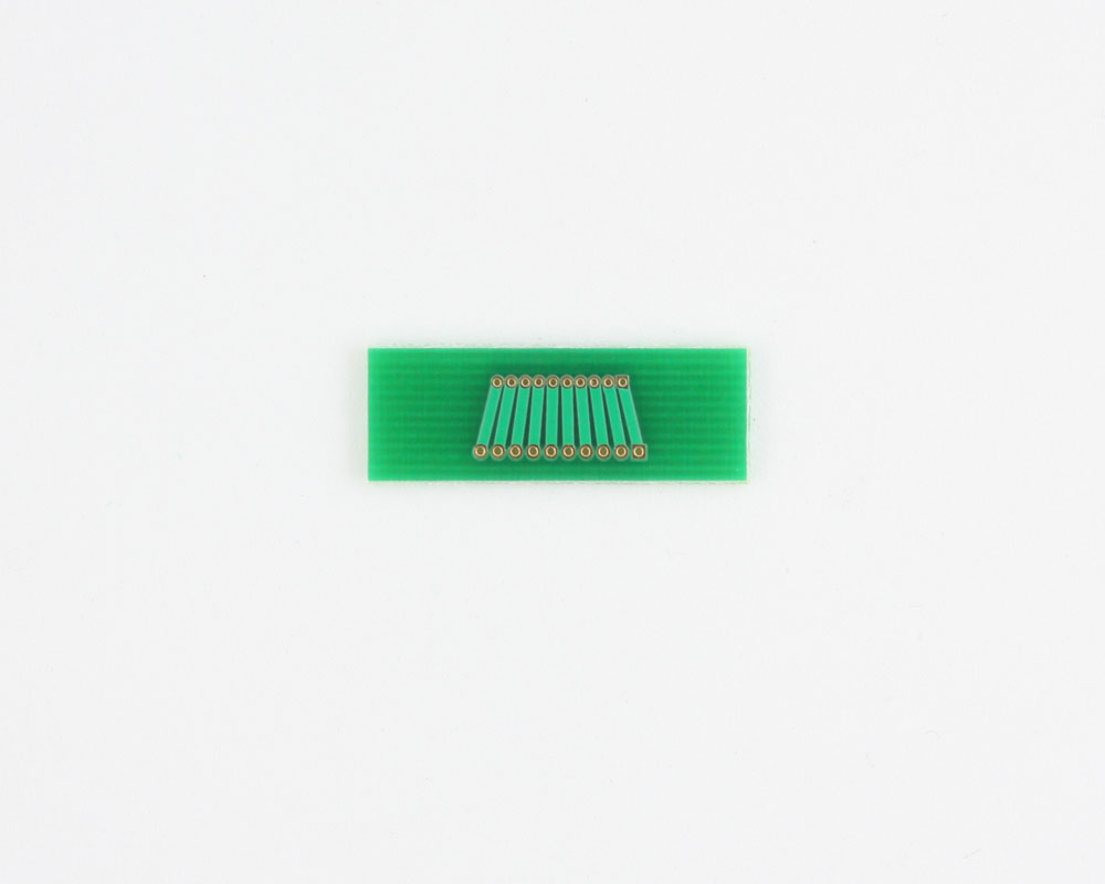 Pitch Changer 1.00 mm to 1.27 mm conversion - 10 pin 1